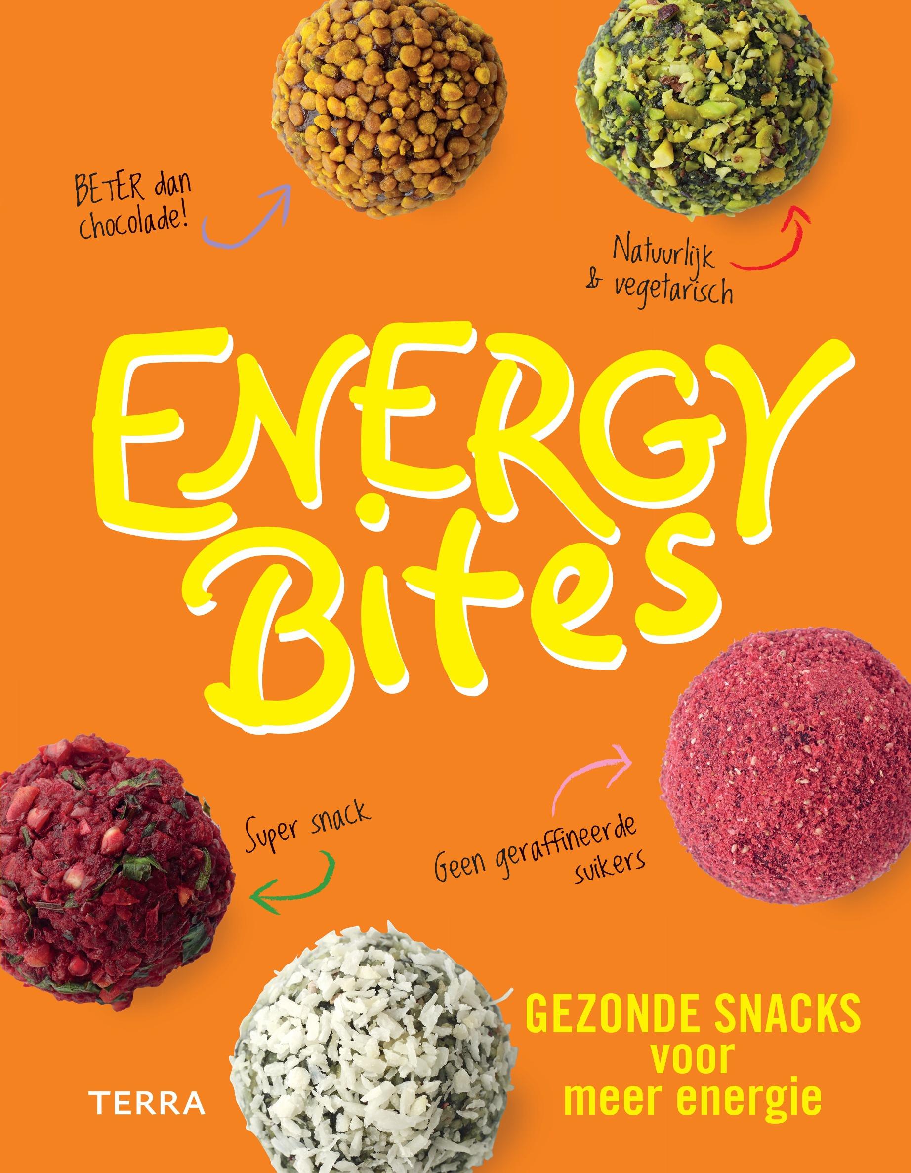 Winnen! Het boek Energy Bites van Kate Turner