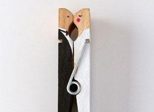 Schep orde op je bureau met deze liefdevolle wasknijper