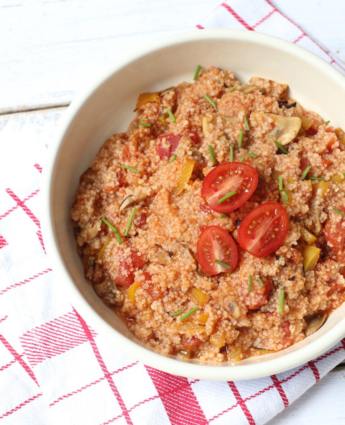 Vegetarisch couscous stoofpotje