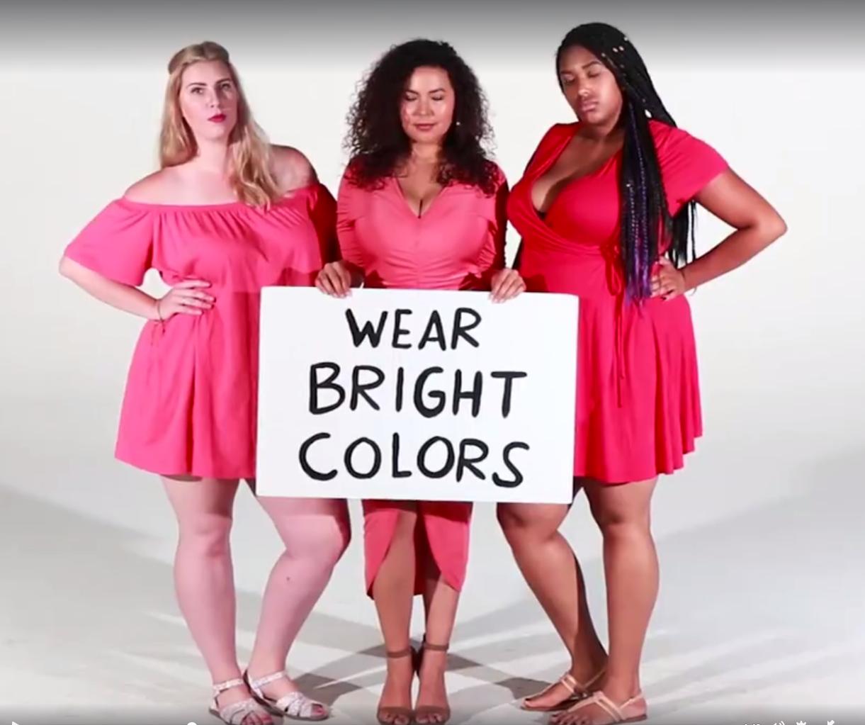 Video: Vrouwen maken korte metten met vooroordelen over 'plus size' vrouwen