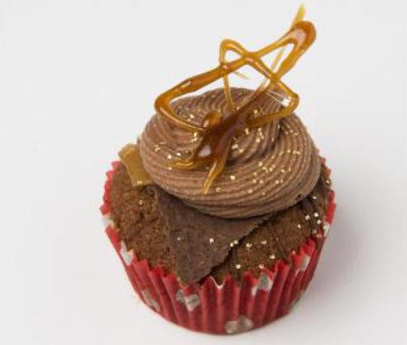 Recept: Karamel cupcakes