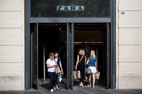 Zara zwicht voor grote maten