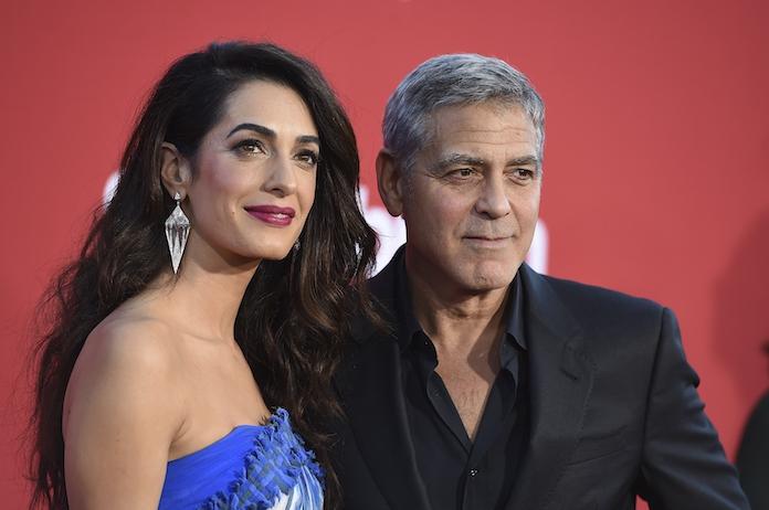 Amal Clooney zeer openhartig over relatie met George in bijzonder interview