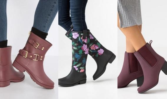 Shoppen: Deze hippe regenlaarsjes houden je voeten droog!