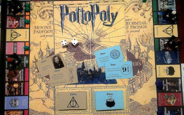 Dit Monopoly-spel gebaseerd op de wereld van Harry Potter willen wij nu uitproberen