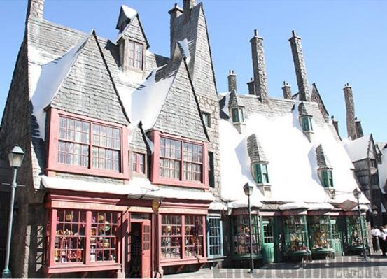 Dit zijn de eerste 30 foto's van het Harry Potter-themapark