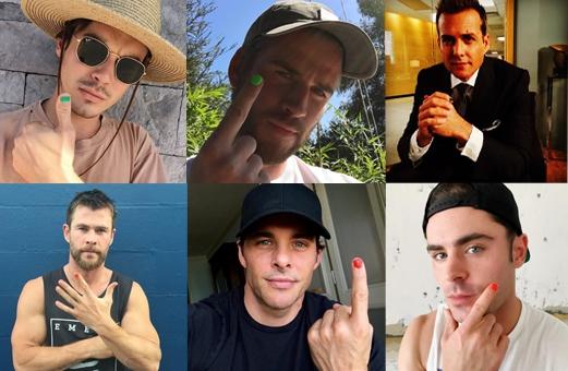 AHA: Dit is de reden waarom mannelijke celebs plots nagellak dragen