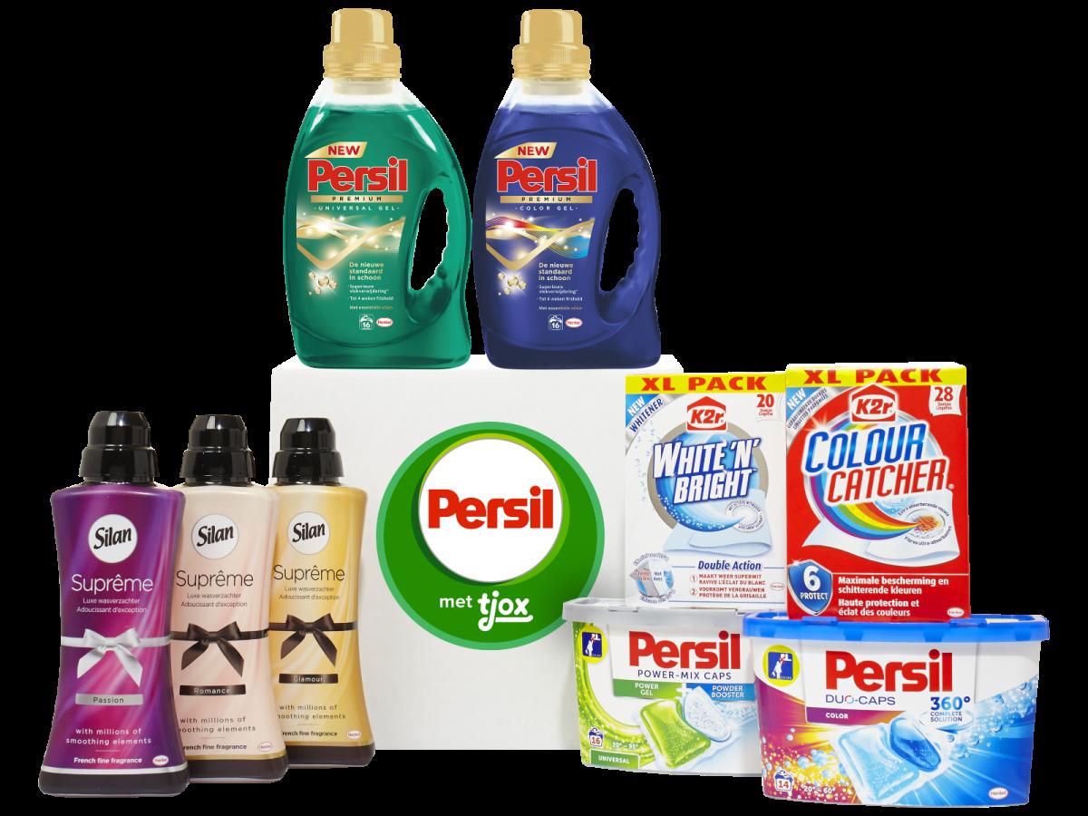 Nu de nieuwste producten van Persil, Silan en K2r voor €25,95 (in plaats van €49,95)