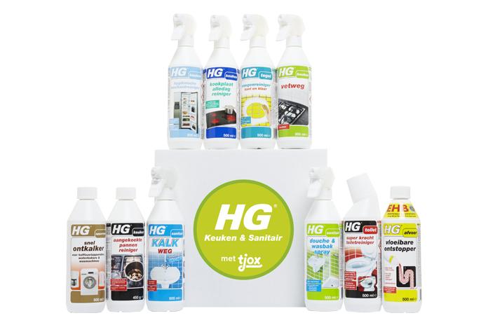 Hebben! HG Keuken & Sanitair box voor €25,50 (in plaats van €42,95)