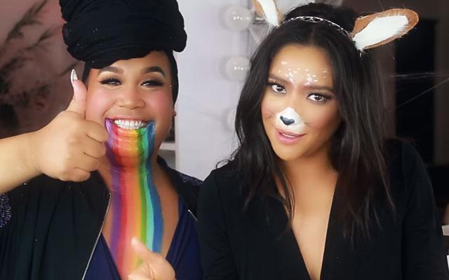 Deze op Snapchat geïnspireerde make-uplooks zijn perfect voor Halloween