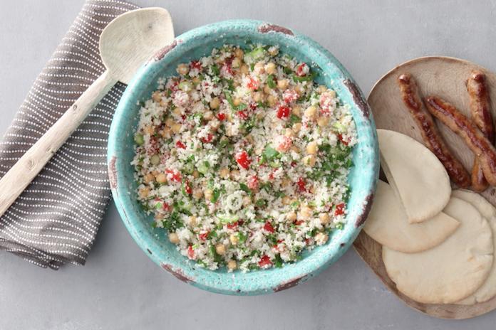 Voor iedereen die meer groente wil eten: deze couscous van bloemkool moét je proberen