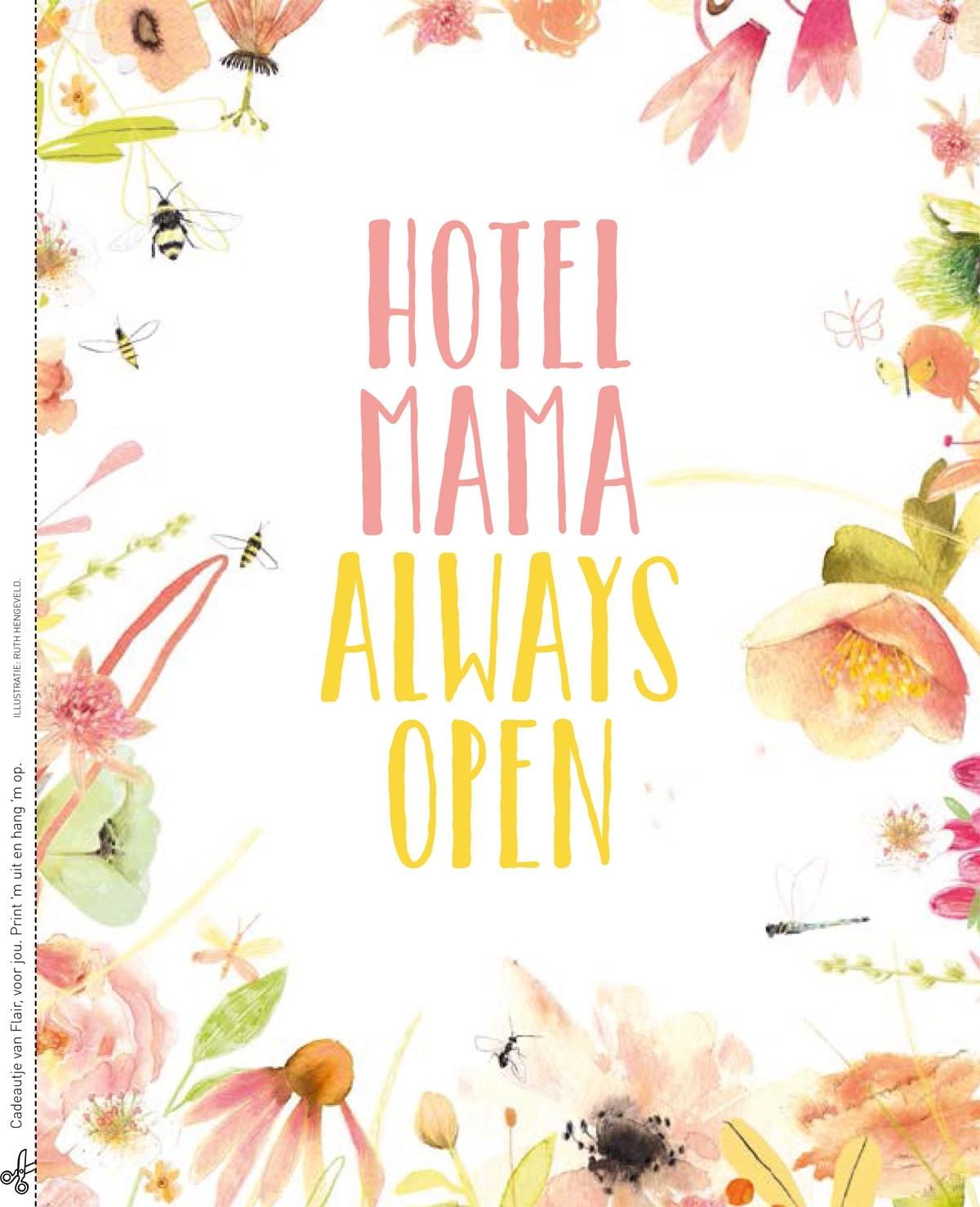 Spreuk: Hotel mama