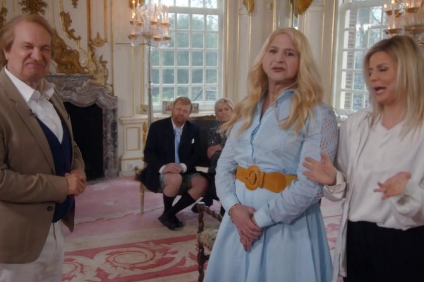 Wisselende reacties op persiflage van het koningshuis in 'De TV Kantine'