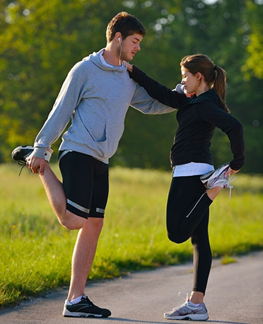 Sporten doe je samen