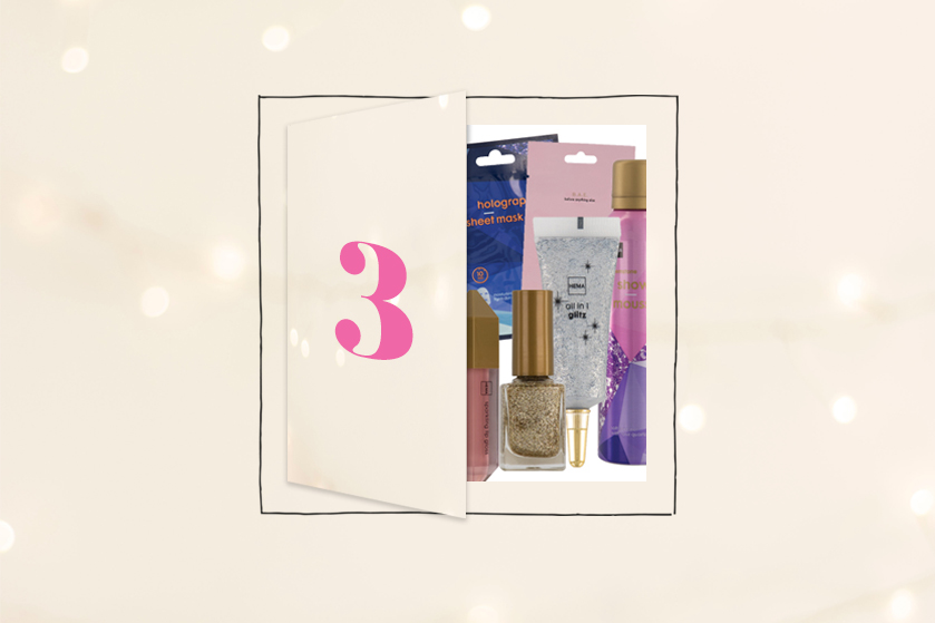 Flair's Adventskalender 2020 #3: win 3x een 'schitterend' HEMA-beautypakket van de gloednieuwe kerstcollectie