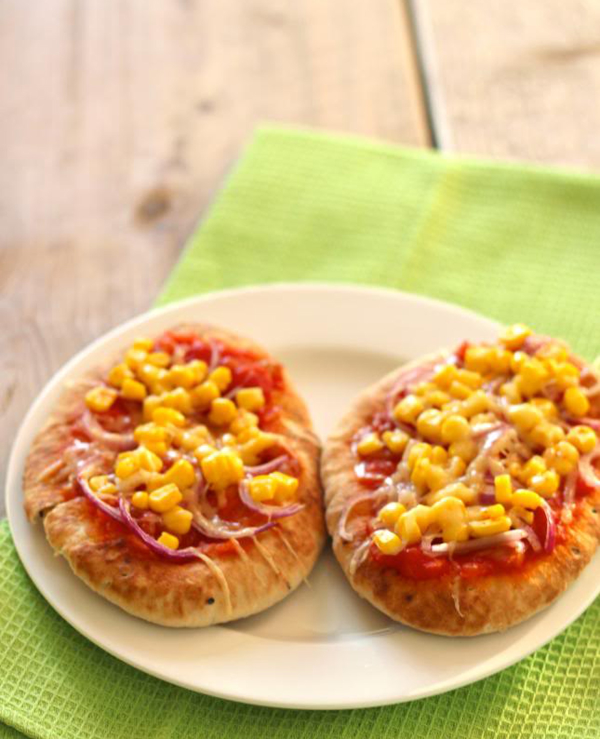 Mexicaanse naanbroodjes