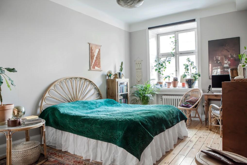Binnenkijker slaapkamer kleur