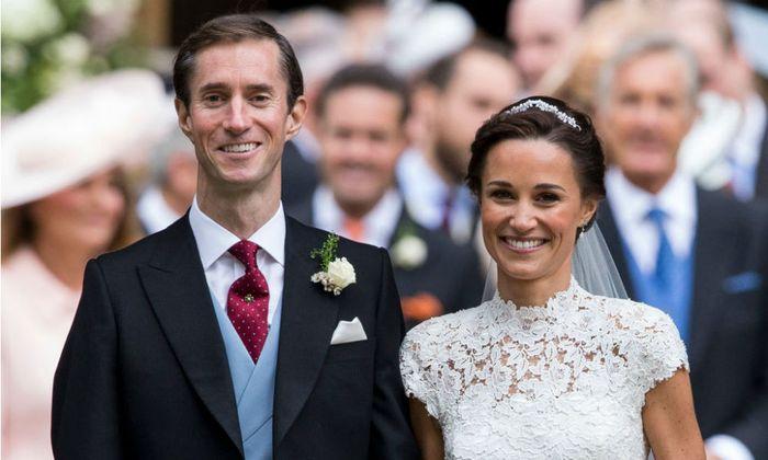 Zien: dít zijn de eerste beelden van het huwelijk van Pippa Middleton