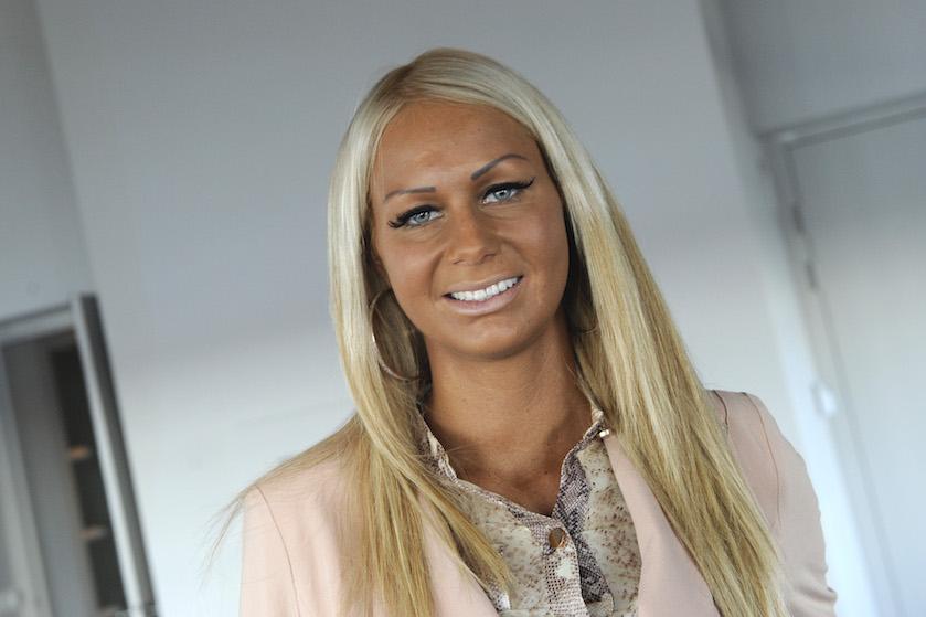 Moving on: Samantha 'Barbie' de Jong laat tattoo overleden vriend bedekken