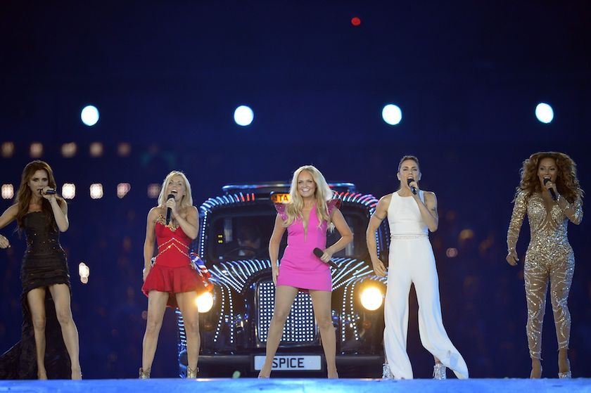 Spice Girls schrijven geschiedenis