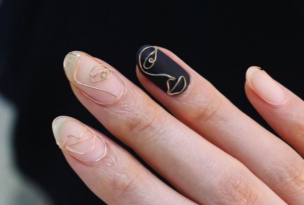 Bizzarre beauty trend: Wire Nails!