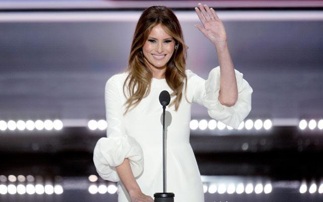 Melania Trump wil een glam room laten bouwen in het Witte Huis