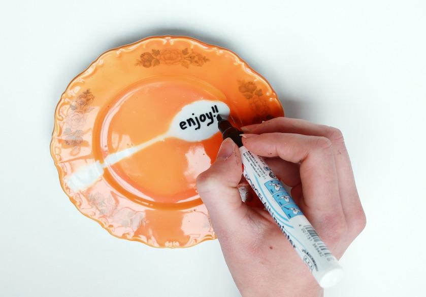 DIY Porselein servies Flair