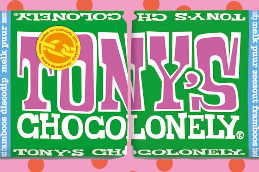 Oh my! Tony's Chocolonely opent winkel waar je zelf je chocoladereep kunt samenstellen