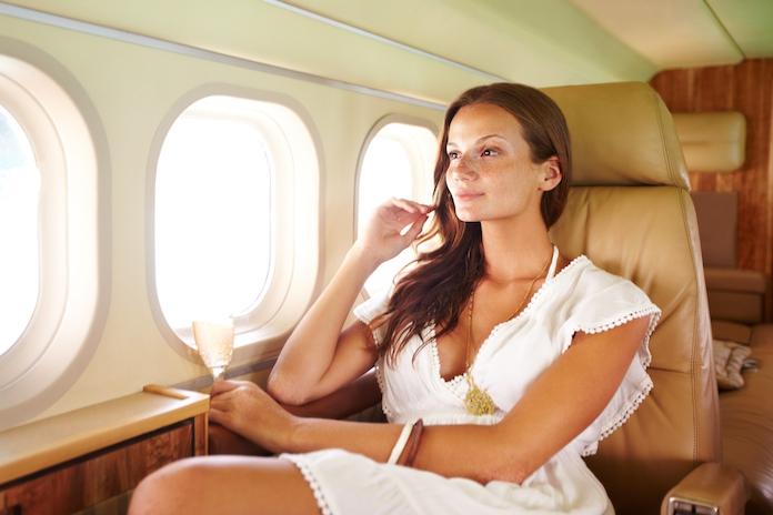 Zo zorg je voor een gratis upgrade in het vliegtuig