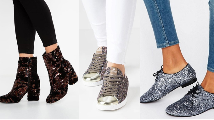 Shoppen: met deze glitterschoentjes maak je jouw feestoutfit net dat tikkeltje glamoureuzer
