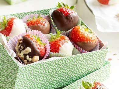 Yummy: deze fruitpralines met chocola zijn het perfecte snackje