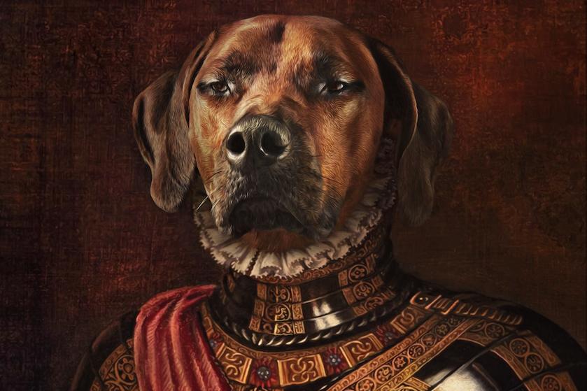 Het is al bijna dierendag! WIN een uniek Hotdogue schilderij van je huisdier