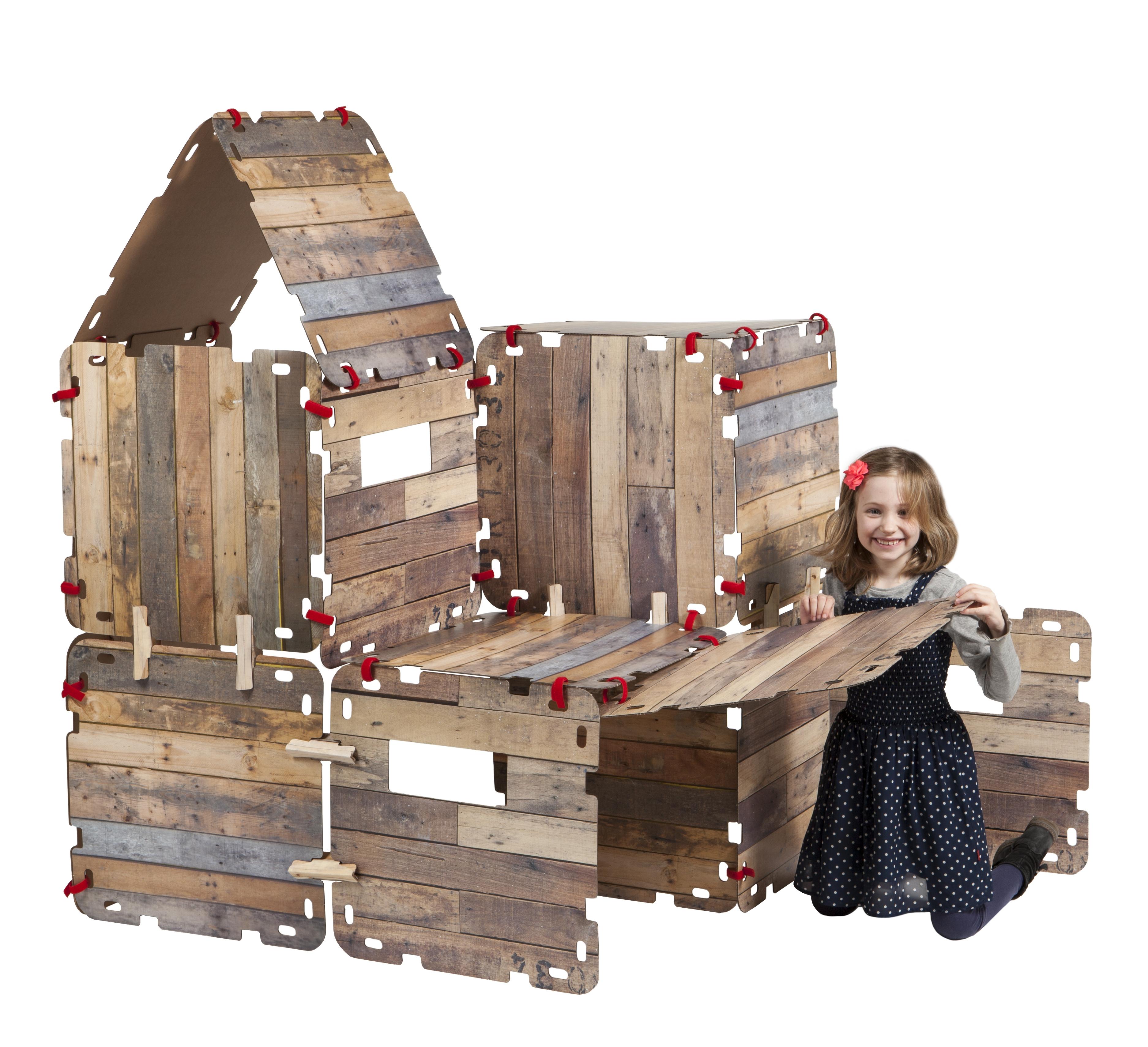 Win: een fantasy fort, het leuke nieuwe speelgoed voor kinderen