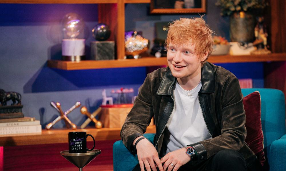Ed Sheeran over zijn kinderdroom als muzikant: 'Mensen zeiden dat ik een echte baan moest zoeken'