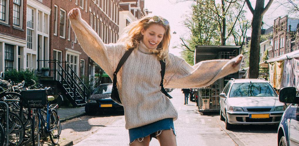 Nederlanders waren in 2020 gelukkiger met hun leven dan in 2019