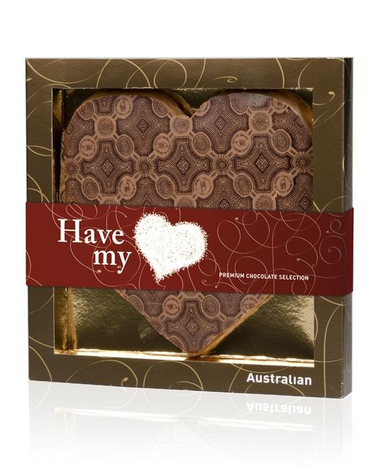 Win een chocolade hart!