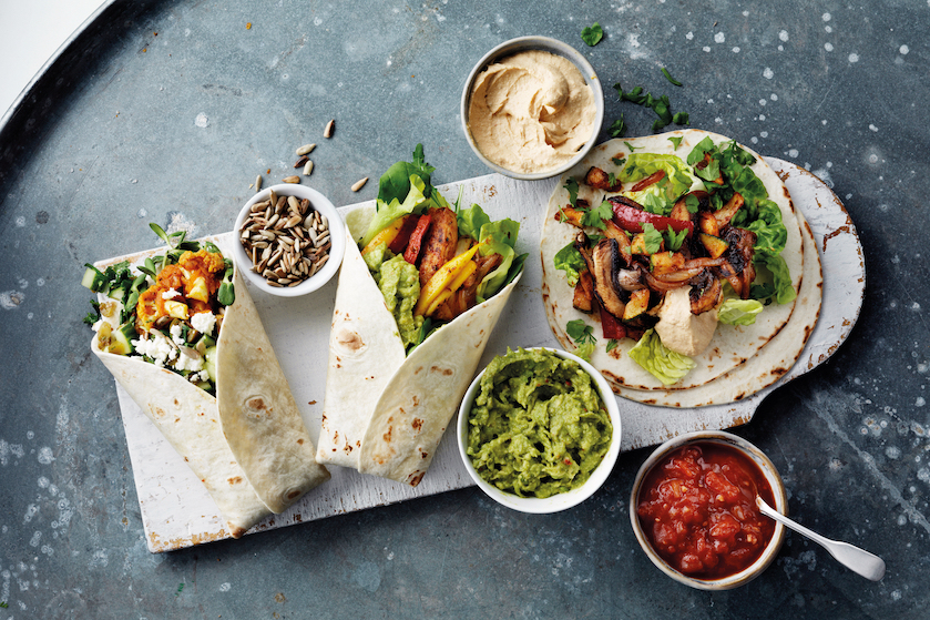 Nationale Week Zonder Vlees – recept: vegan mango fajita