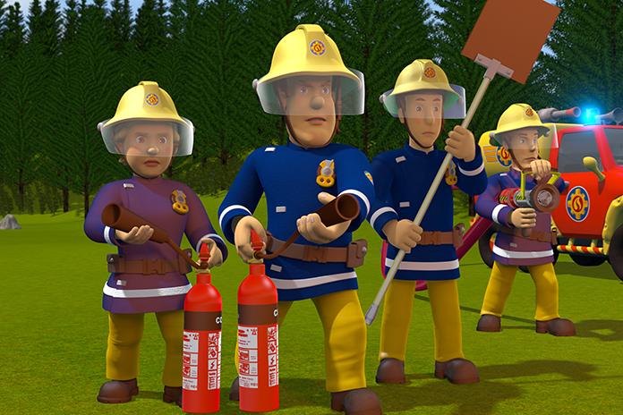 Winnen: kaartjes voor de nieuwste 'Brandweerman Sam'-film