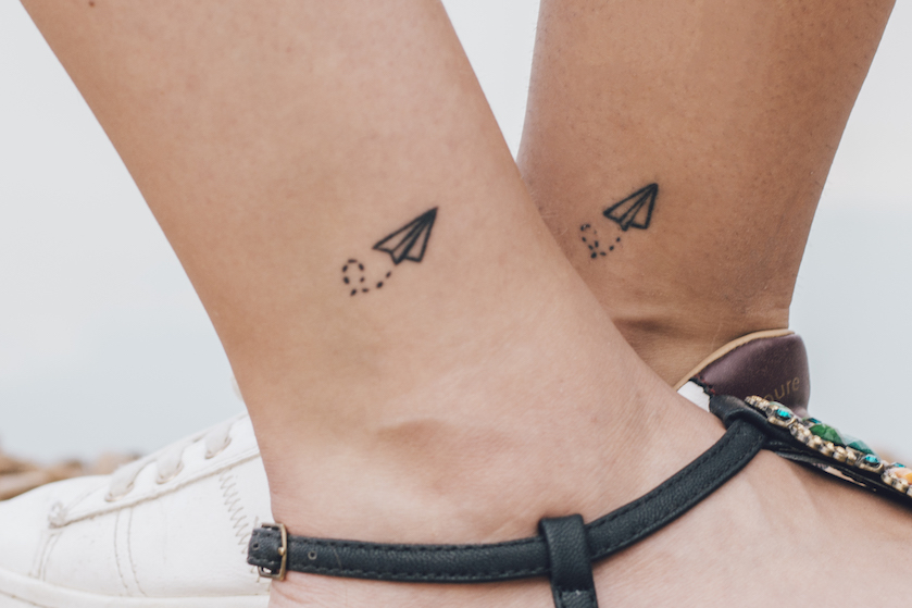Dít zijn de allerliefste matching tattoos om samen met je beste vriendin te nemen