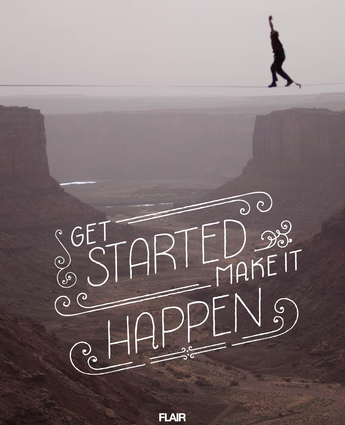 Get started make it happen