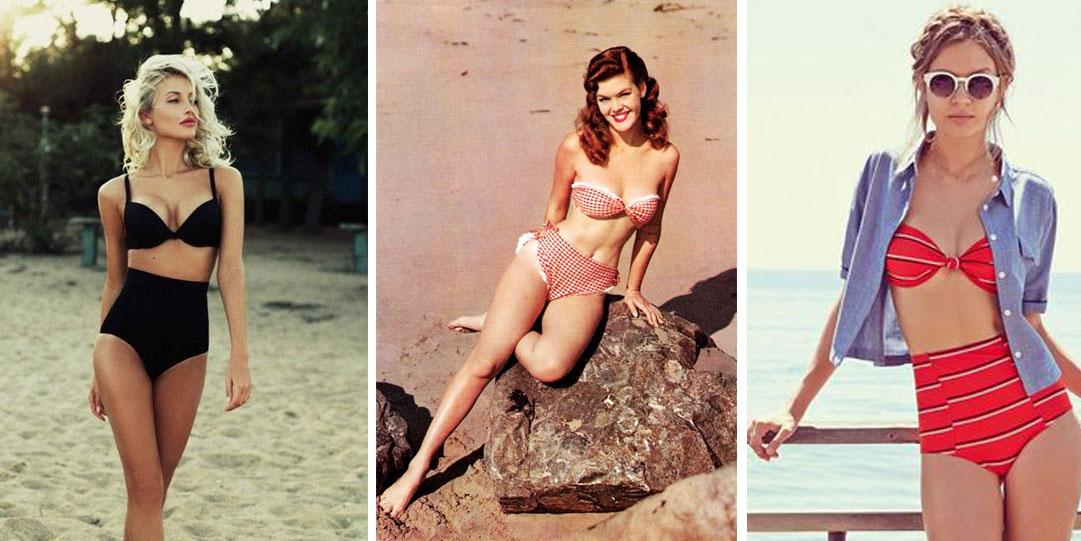 Leuk voor op vakantie: 17x een retro bikini