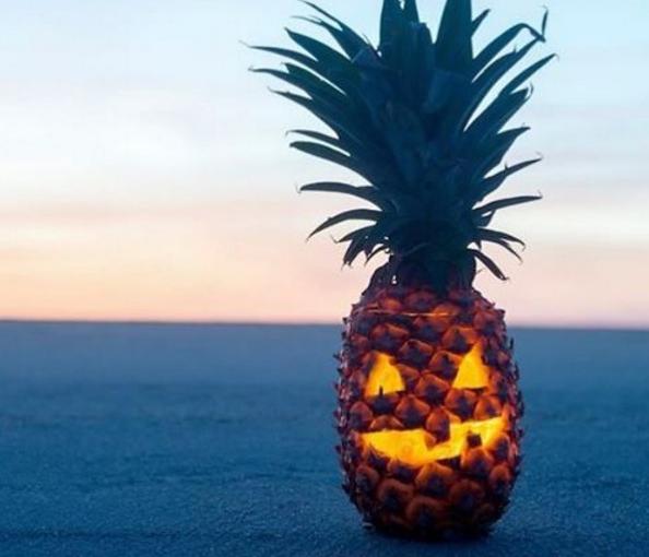 TREND: Ananas is de nieuwe pompoen bij Halloween!