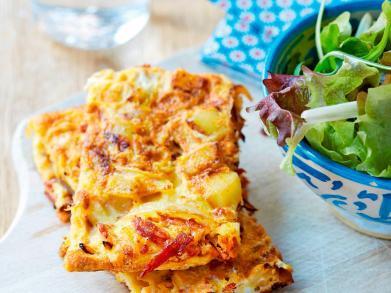 Brunchreceptje: tortilla met chorizo