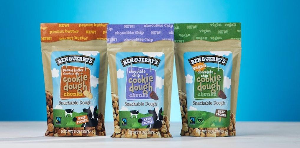 Dit móet je proberen: Ben & Jerry's komt met Cookie Dough Chunks
