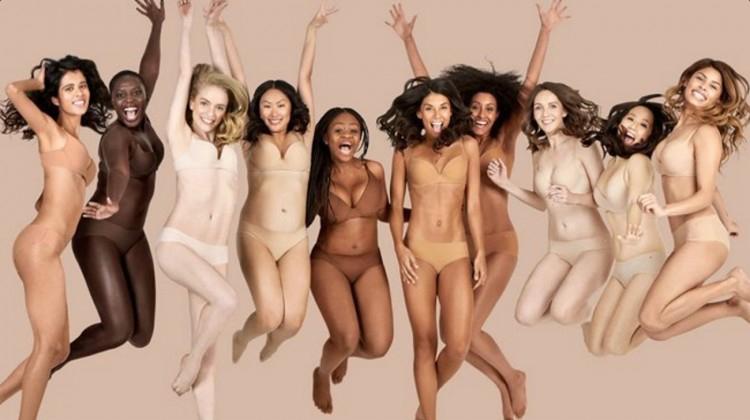Lingeriemerk Naja lanceert ondergoed in 7 kleuren nude