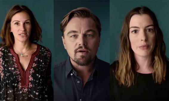 Video: Hollywoodsterren roepen Amerikanen op om te gaan stemmen!