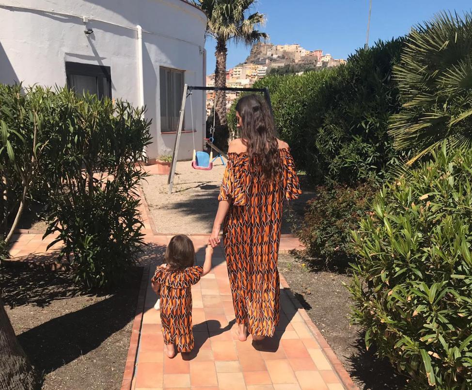 8x zo viert Flairs Gina quality time met haar dochter Mex