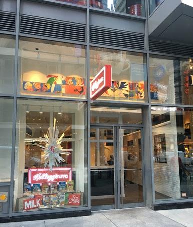 Zien: Kellogg's opent ontbijtbar in New York