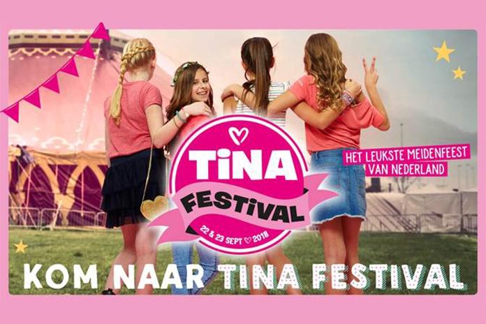 Winnen: 5×2 kaarten voor Tina Festival en beleef de gezelligste moeder-dochterdag