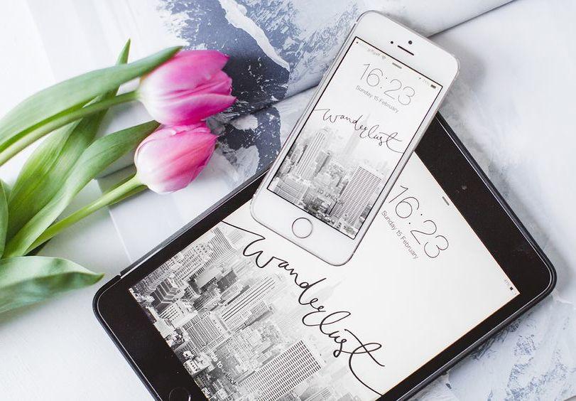 Dress your tech: 15 x vrolijke achtergrondjes voor je smartphone!